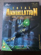 PC Game Big Box Total Annihilation von 1997 deutsch noch OVP in Folie