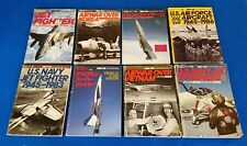 Lot of (8) KOKU-FAN ILLUSTRATED (13,15,21,22,25,27,29,32) Air Force JAPAN