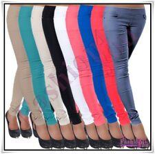 Sexy Ladies Skinny Treggings Women's Leggings Trousers Size 8,10,12,14,16 UK