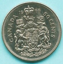 1968 CANADA 50 CENTS COIN