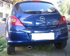 Auspuffblende OPEL Corsa D 1,2 1,4 2006-2014 Endrohr Sportauspuff Optik