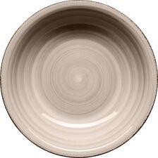 6 pcs. Plato sopero 21cm Gris Porcelana Profundo de comida NUEVO