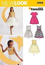 NEW LOOK COUTURE MOTIF robe de soirée pour filles JUMELLES SIZE 8 16 6388 DEMI