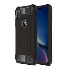 Black Luxury Shockproof Armor Case For Apple iPhone XR Hybrid Back Cover