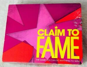 Parker Brothers Claim To Fame Board Game