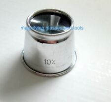 Jeweler's eye loupe magnifying glass NEW 10X magnifier