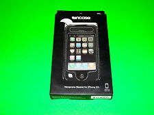 BLACK INCASE NEOPRENE PROTECTIVE CASE FOR APPLE IPHONE 3G 3GS 8GB 16GB