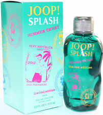 JOOP SPLASH SUMMER TICKET 3.8 OZ EDT SPRYA FOR MEN NEW IN A BOX BY JOOP