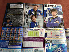 JAPAN J.League J2 Gamba OSAKA 2013 HOME matchday Football soccer PROGRAM Endo