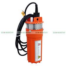 DC12V Submersible Deep Well Water Pump / Alternative Energy Solar Battery New
