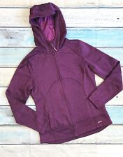 Mondetta Sz L Women's Purple Hooded Jacket