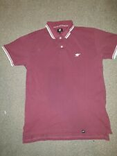 Arsenal polo shirt medium fred perry style