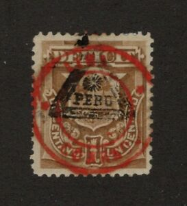 Peru Scott J27 Cat. $43.00