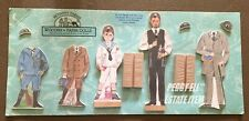 1993 Bethany Farms Handmade Wooden Paper Dolls Set #8029 David & Jared Niop