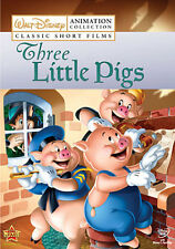 Disney Classic Short Films: Three Little Pigs (DVD,2009)