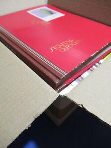 SCATOLA CON TANTISSIMO MATERIALE FILATELICO VARIO 4 ALBUM .. VEDI 265 FOTO LOTTO