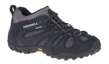 Merrell Chameleon Cham 8 Stretch WP/Black/Grey Hiking Shoe Men's sizes 7-15/NEW!