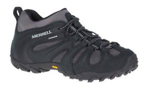 Merrell Chameleon Cham 8 Stretch WP/Black/Grey Hiking Shoe Men's sizes 7-15/NEW!