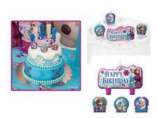 Disney Princess Frozen Anna Elsa Olaf  Birthday Cake Candle Party Supplies