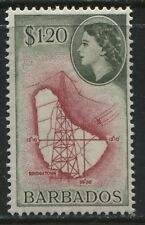 Barbados QEII 1956 $1.20 mint o.g.