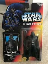 JAMES EARL JONES+DAVE PROWSE HAND SIGNED DARTH VADER FIGURE    RARE      BECKETT