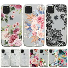 For iPhone 11 12 Pro Max XR XS X 8 7 Slim Soft Silicone Clear Painted Case Cover