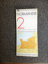 Carte IGN 1:250000  normandie n° 2 Bi Carte 1976