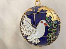 """Closionne 2.5"""" Dove Bird Ball Ornament Globe"""