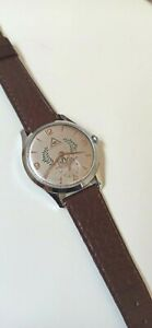 VINTAGE GIRARD PERREGAUX CAL 27 MANUAL WIND CUSTOM MASONIC SWISS WATCH Ca 1950