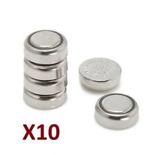 10 Pilas Alcalinas 1.55v, SR626SW, LR626, AG4, 377, CX66W, Alkaline Batteries.