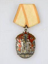Russland UdSSR Original Orden Zeichen der Ehre Silber Medaille !