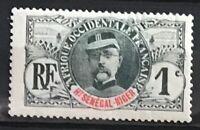 Upper Senegal & Niger #1 MH CV$1.40 Faidherbe