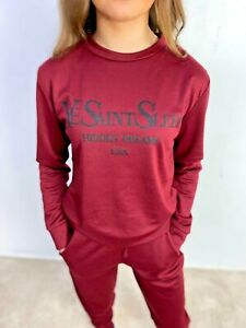 "Latest On Trend ""Ye Saint Sleep""Top Selling Lounge wear- 2 Piece- S/M(8-10)"