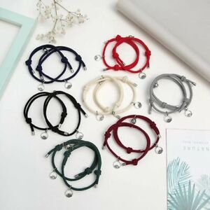 2pcs/set Attract Couples Bracelets Bangle Rope Weaving Magnet Love Jewelry Gift