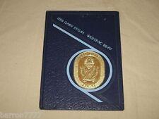 USS Gary FFG-51 Westpac 1986-1987 Navy Cruise Book