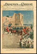 Triumphal Visit of Italian Prime Minister in Tripolitania Libya, DDC Cover 1926
