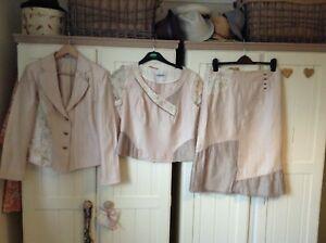 Lovely Ladies 3 Piece Suit Size 12