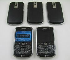 5 Blackberry 9000 Bold Unlocked Cell Phone Lot GPS w/Travel Chrger