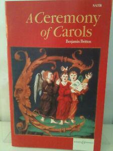 Benjamin Britten A Ceremony of Carols Vocal Score