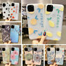 For iPhone 11 Pro XS Max XR X 8 6 7 Plus Soft Silicone Fruits Pattern Case Cover