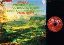 DVORAK Symphony #9 COLIN DAVIS LP Gatefold Philips 9500 511 1978 France @EX/EX