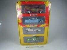 1 64 Hot Wheels 4 Car pack lata vitrina #1 40th Anniversary productos Lácteos