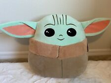 "NWT 20"" Grogu Baby Yoda The Child Squishmallows Star Wars Mandalorian JUMBO!"