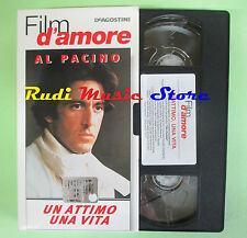 film VHS cartonata UN ATTIMO UNA VITA Al Pacino FILM D'AMORE DEA (F77) no dvd