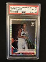 2019-20 Donruss Optic Terance Mann Rated Rookie Fanatics PSA 10 Clippers RC QTY
