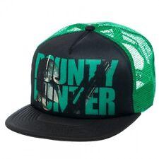 Men Women s Gift Hip Hop Hat Star Wars Bounty Hunter Trucker Mesh Baseball Cap