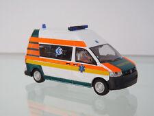 Rietze 53624 - 1:87 BUS - VW T5 GP medicent sauvetage rouge -