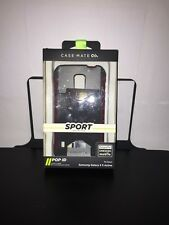 CASE-MATE Samsung Galaxy S5 Active Sport Case Cardholder New Black/red