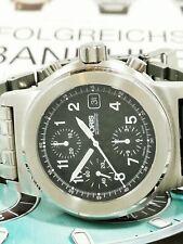 Very Rare Big Men´s Watch Oris Bc3 Big Crwon Flieger Chronograph Automatik Uhr
