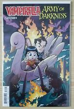 Vampirella / Army of Darkness #3 - Cover B Tony Fleecs Variant -Evil Dead Comics